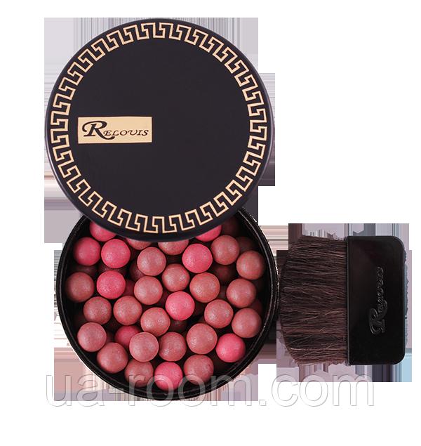 Румяна шариковые Relouis Black&Gold B316