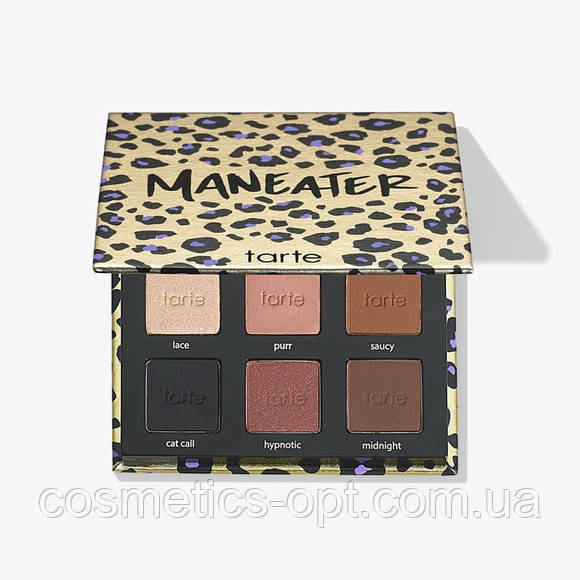 Тени для век Tarte Maneater Eyeshadow Palette (реплика)