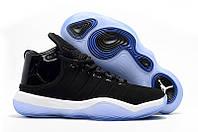 Баскетбольные кроссовки Nike Jordan Super Fly 2017 (черный/белый)