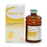 Тетравет ЛА (окситетрациклин) 250 мл. Сева