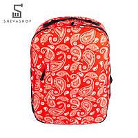 Рюкзак Punch Buzz paisley, красный, фото 1