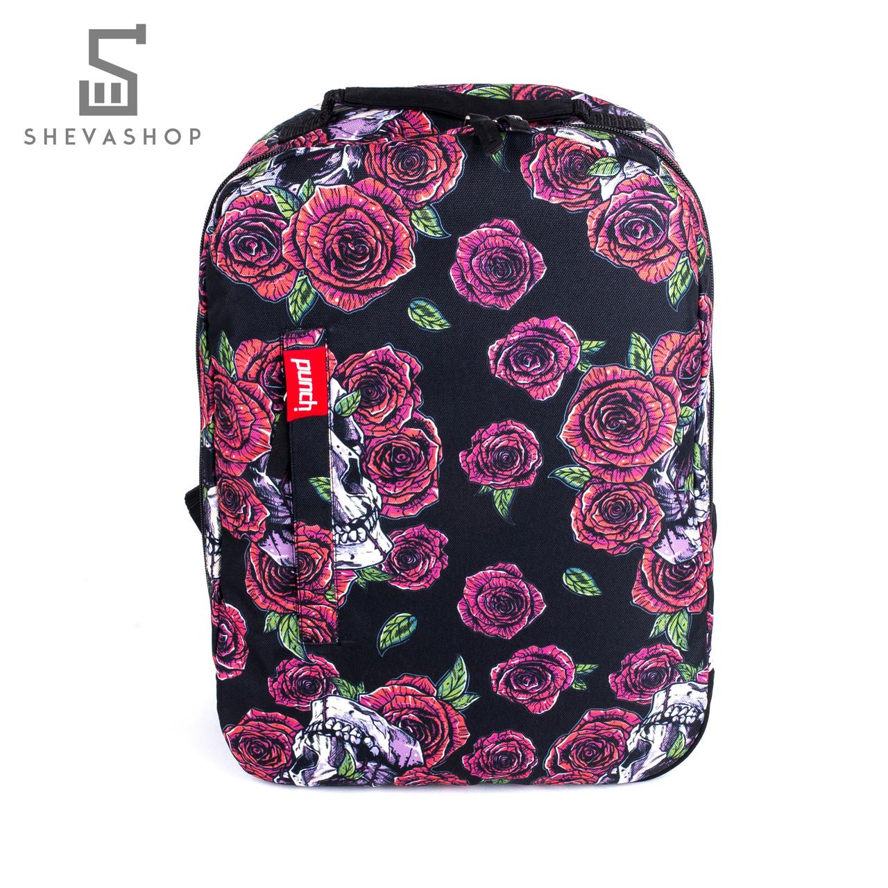 Рюкзак Punch Buzz roze черный