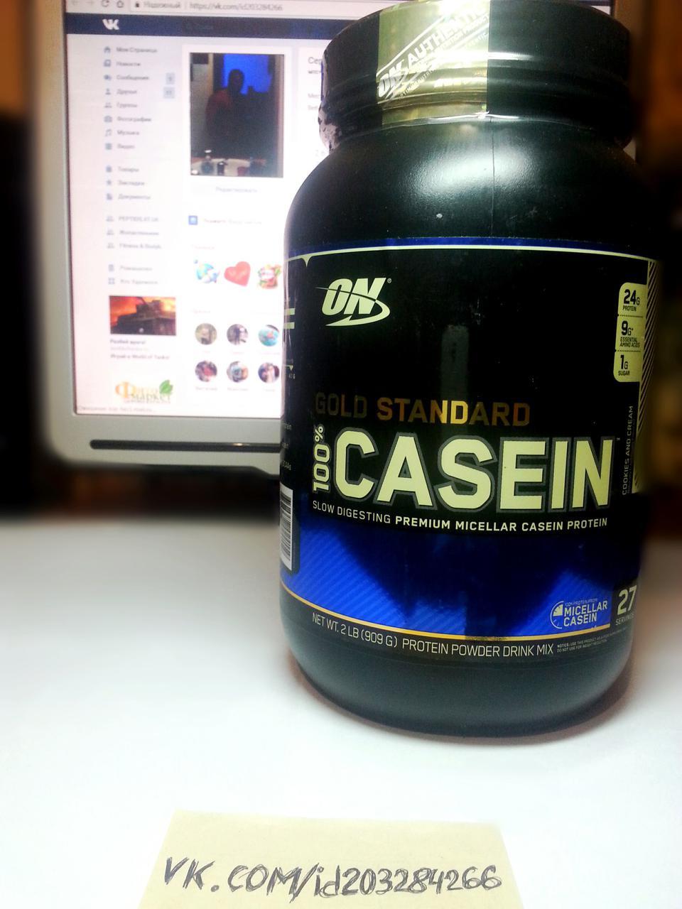 Протеин, Optimum Nutrition Casein Protein 909г
