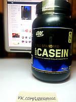Протеин, Optimum Nutrition Casein Protein 909г, фото 1