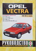 OPEL VECTRA Моделі 1988-1995 рр. Бензин Керівництво по ремонту та експлуатації