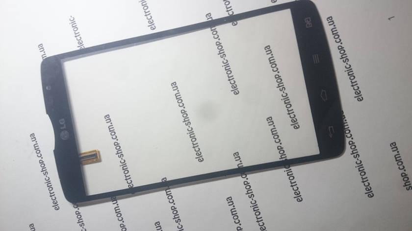 Сенсор (Тачскрин) LG-d380 original черный б.у, фото 2
