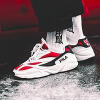 Мужские кроссовки Fila Wenom White\Red