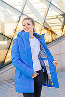 Женская куртка голубая FREEVER 8435, фото 1