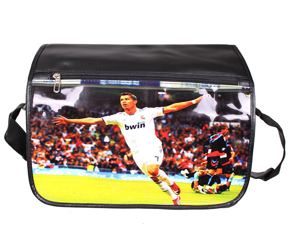 Спортивная сумка из искусственной кожи sport304151 черная