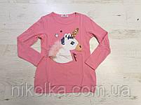 Трикотажный реглана для девочек оптом, Seagull, 6-14 лет., aрт. CSQ-52089, фото 3