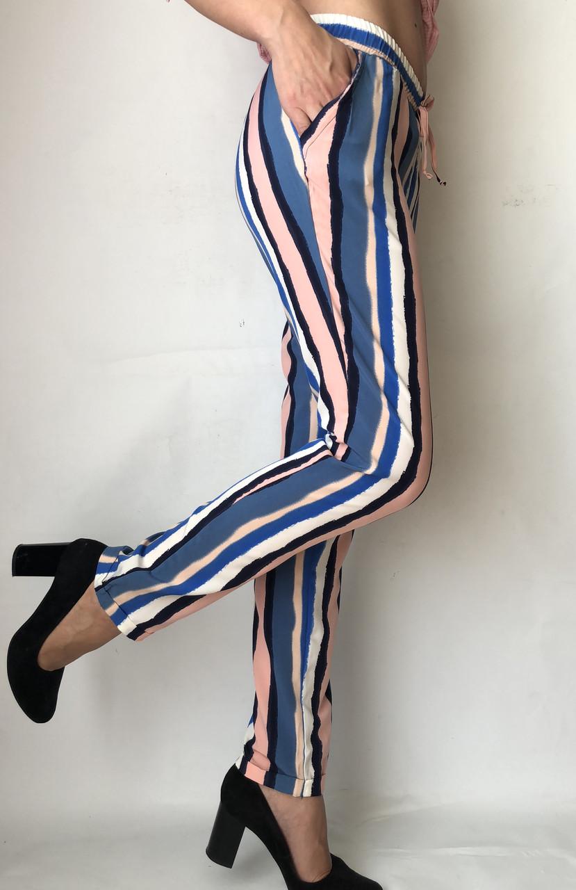 Женские летние штаны N°17 Радуга