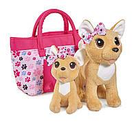Собачка Чихуахуа Счастливая семья с сумочкой 5893213