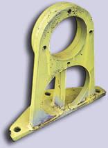Кронштейн лебедки автокранов, фото 3