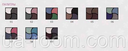 Тени для век 4 цвета Lily E148, фото 2