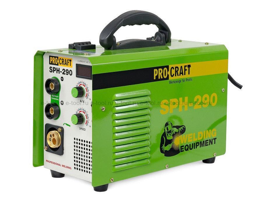 Сварочный инвертор п/а Procraft SPH-290
