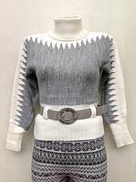 Ангоровый вязаный свитер для девочек Джулия