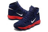 Баскетбольные кроссовки Nike Hyperdunk (синий/красный)