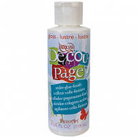 Клей Americana Decou-Page Gloss DS101-72, 118 мл