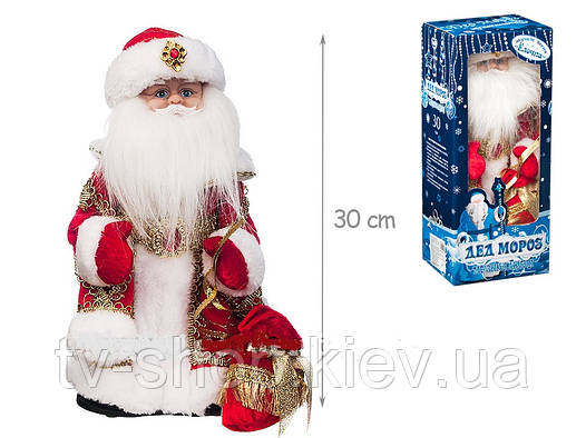 Дед Мороз музыкальный 30 см
