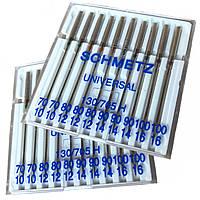 Иглы швейные SCHMETZ (Германия) универсальные, для бытовых швейных машин