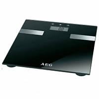 Весы напольные черные AEG PW 5644 FA