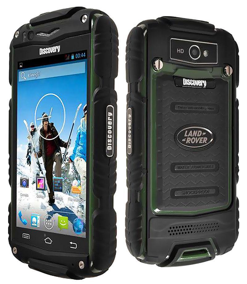 Компактный защищенный телефон Discovery v8