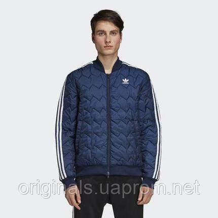 Куртка стеганная мужская Adidas SST Quilted Jacket DH5013, фото 2
