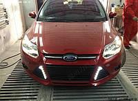 DRL штатные дневные ходовые огни LED- DRL для Ford Focus 2011+V2