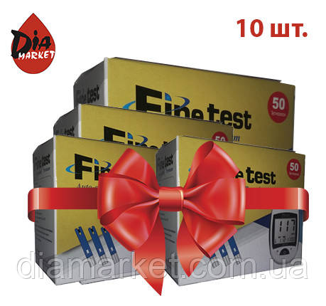 "Тест-полоски ""Fine test Auto-coding Premium"" 10 упаковок по 50шт."