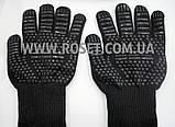 Перчатки термостойкие для BBQ GLOVES HEAT RESISTANT жаростойкие, фото 4
