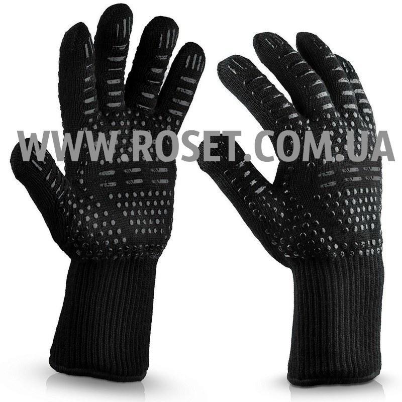 Перчатки термостойкие для BBQ GLOVES HEAT RESISTANT жаростойкие