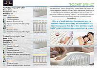 """Pocket Spring Light """"Due"""" 22 см"""