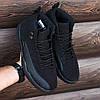 """Баскетбольные кроссовки Nike Air Jordan 12 """"Black"""" (Найк Аир Джордан) черные, фото 6"""