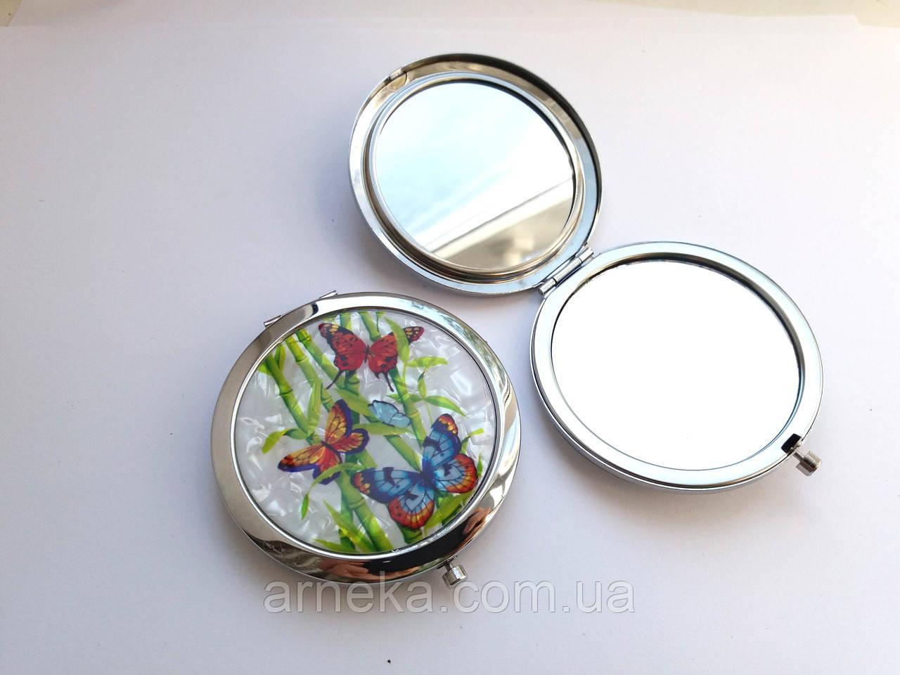 Зеркальце карманное