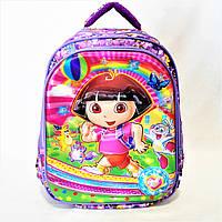 Школьный рюкзак для девочек фиолетового цвета RСС-149331