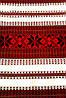 Тканний рушник з красивим українським орнаментом, фото 4