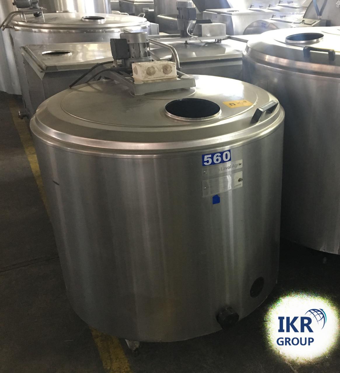 Охладитель молока Б/У ALFA LAVAL 400 открытого типа объёмом 400 литров
