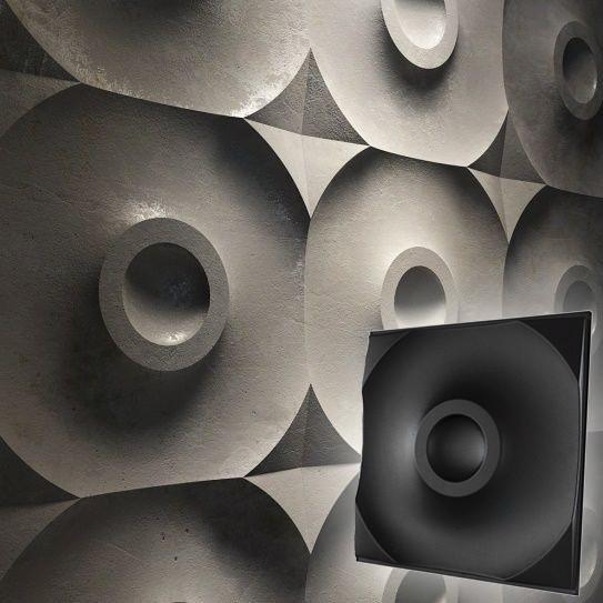 "Форма для 3D панелей ""Цель"" 500*500 мм"