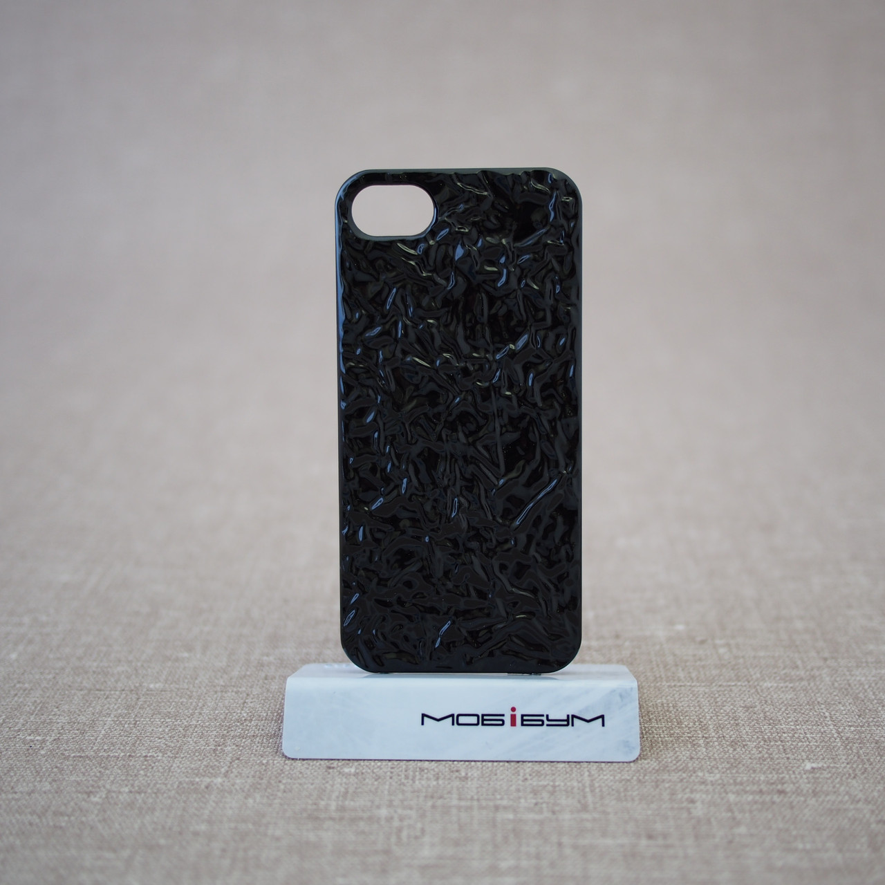Чехол MARC JACOBS Fashion Foil iPhone 5s/SE black (MJ-FOIL-BLCK)