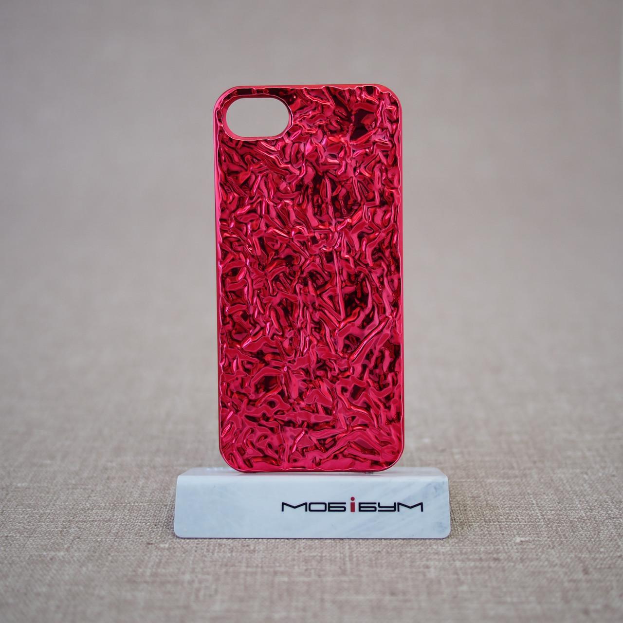 Чехол MARC JACOBS Fashion Foil iPhone 5s/SE red (MJ-FOIL-REDD)