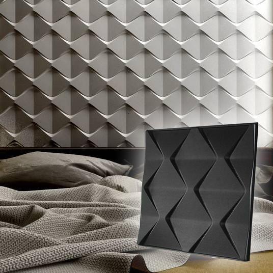 """Форма для 3D панелей """"Пирамиды"""" 500*500 мм"""