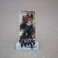 Чехол MARC JACOBS Fashion Melt Case for iPhone 5s/SE Silver (MJ-MELT-SLVR)