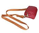Мужская кожаная сумка на поясной ремень 301425, фото 6