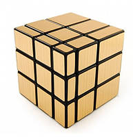 Кубик Рубика зеркальный Shengshou золотой 3х3