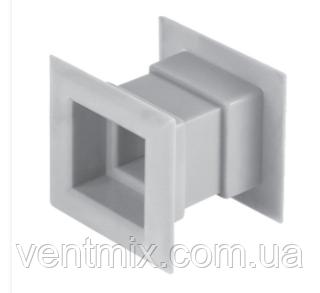 Вентиляционная решетка дверная (белая) Awenta