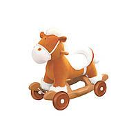 Чудокачалка - МУЗЫКАЛЬНЫЙ ПОНИ | качалка для детей с колесами