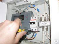 Установка электрического счетчика (прибор учёта электро энергии) в Киеве