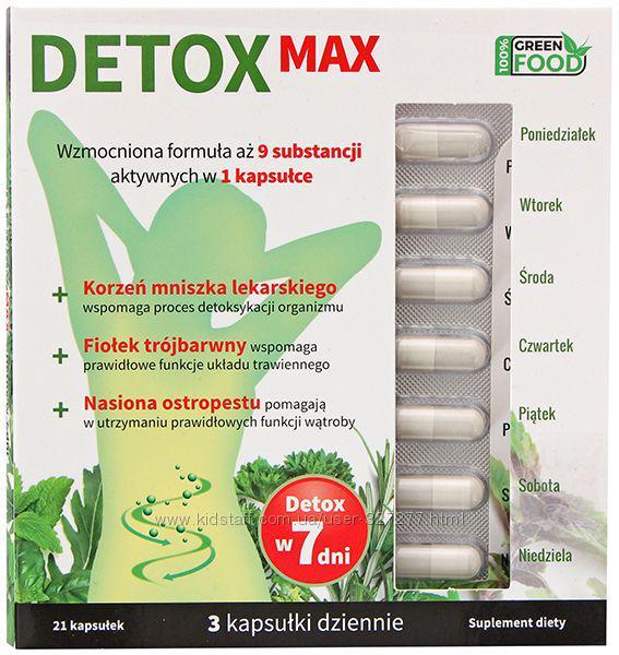 Detox Мах Детокс.  для похудения,  очищения организма, печени, кишечника