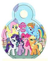 "Медали ""Little Pony"". В упак: 10 шт. Диаметр: 75 мм. Материал: Картон."