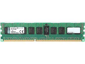 "Оперативная память Kingston DDR3 8GB 1866MHz KTD-PE318/8G ECC DIMM для DELL ""Over-Stock"" Б/У"